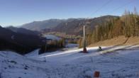 Archiv Foto Webcam Skigebiet Weissensee - Bergstation 08:00