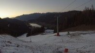 Archiv Foto Webcam Skigebiet Weissensee - Bergstation 10:00
