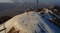 Archiv Foto Webcam Monte Panarotta - Bergstation 04:00