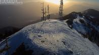 Archiv Foto Webcam Monte Panarotta - Bergstation 10:00