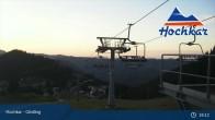 Archiv Foto Webcam Almlift Bergstation 19:00