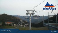 Archiv Foto Webcam Almlift Bergstation 01:00