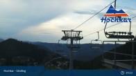 Archived image Webcam Almlift Top Station 13:00