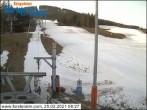 Archiv Foto Webcam Skigebiet Forsteralm Talstation 02:00
