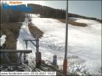 Archiv Foto Webcam Skigebiet Forsteralm Talstation 04:00