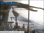 Archiv Foto Webcam Skigebiet Forsteralm Talstation 08:00