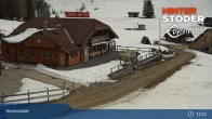 Archiv Foto Webcam Hinterstoder: Hössbahn Bergstation 07:00