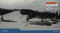 Archiv Foto Webcam Hinterstoder: Hössbahn Bergstation 11:00