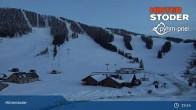 Archived image Webcam Top Station Hössbahn 19:00