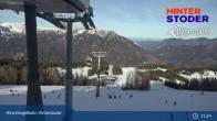 Archiv Foto Webcam Hinterstoder: Bergstation Hirschkogelbahn 05:00