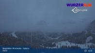 Archiv Foto Webcam Panoramabild Wurzeralm Bergstation 21:00