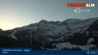 Archiv Foto Webcam Panoramabild Wurzeralm Bergstation 19:00