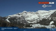Archiv Foto Webcam Panoramabild Wurzeralm Bergstation 03:00