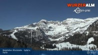 Archiv Foto Webcam Panoramabild Wurzeralm Bergstation 05:00
