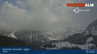 Archiv Foto Webcam Panoramabild Wurzeralm Bergstation 01:00