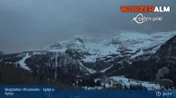 Archiv Foto Webcam Panoramabild Wurzeralm Bergstation 21:00
