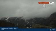 Archiv Foto Webcam Panoramabild Wurzeralm Bergstation 07:00