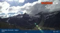 Archiv Foto Webcam Panoramabild Wurzeralm Bergstation 11:00