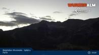Archiv Foto Webcam Panoramabild Wurzeralm Bergstation 19:00
