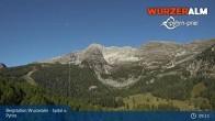 Archiv Foto Webcam Panoramabild Wurzeralm Bergstation 03:00