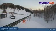Archived image Webcam Top Station Wurzeralm 21:00