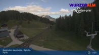 Archiv Foto Webcam Bergstation Wurzeralm 01:00