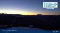 Archived image Webcam Top Station 6 Seater Chairlift 21:00