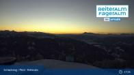 Archiv Foto Webcam Reiteralm: Bergstation 6er-Sesselbahn 21:00