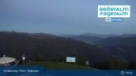 Archiv Foto Webcam Reiteralm: Bergstation 6er-Sesselbahn 23:00