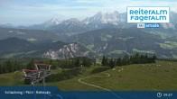Archiv Foto Webcam Reiteralm: Bergstation 6er-Sesselbahn 03:00