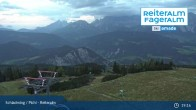 Archived image Webcam Top Station 6 Seater Chairlift 19:00