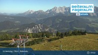 Archived image Webcam Top Station 6 Seater Chairlift 03:00