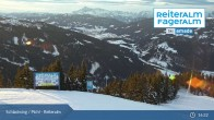 Archiv Foto Webcam Reiteralm: Bergstation 6er-Sesselbahn 19:00