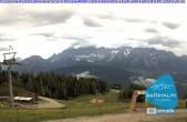 Archiv Foto Webcam Blick von der Preunegg Jet Bergstation 00:00
