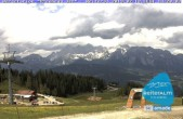 Archiv Foto Webcam Blick von der Preunegg Jet Bergstation 08:00
