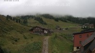 Archived image Webcam Planneralm: View Tauern House 06:00