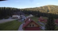 "Archived image Webcam View Huts of ski resort ""Weinebene"" 00:00"