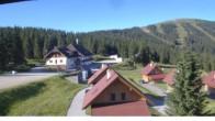 "Archived image Webcam View Huts of ski resort ""Weinebene"" 02:00"