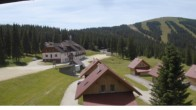 "Archived image Webcam View Huts of ski resort ""Weinebene"" 06:00"