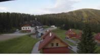 Archiv Foto Webcam Weinebene: Blick Hüttendorf 00:00