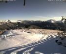 Archiv Foto Webcam Turracher Höhe: Bergstation Kornockbahn 02:00