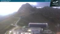 Archived image Webcam Kanzelwandbahn top station 02:00