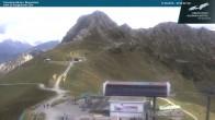 Archived image Webcam Kanzelwandbahn top station 10:00