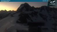 Archived image Webcam Kanzelwandbahn top station 00:00