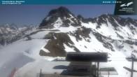 Archived image Webcam Kanzelwandbahn top station 08:00
