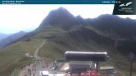 Archiv Foto Webcam Kanzelwandbahn Bergstation 04:00