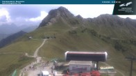 Archiv Foto Webcam Kanzelwandbahn Bergstation 08:00