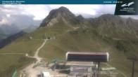Archiv Foto Webcam Kanzelwandbahn Bergstation 10:00