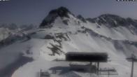 Archiv Foto Webcam Kanzelwandbahn Bergstation 06:00