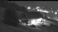 Archiv Foto Webcam Berghütte Rudalpe 18:00